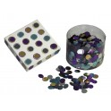 PASTILLES MIROIRS Ø12MM POT 5000 ASSORTIES