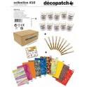 DECOPATCH MALLETTE COLLECTIVITÉS 10PP45 + 10PC05 + 10 FEUILLES