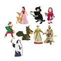 CONTES ET LEGENDES - lot de 9 figurines