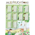 POSTER SOUPLE 52X76CM - MULTIPLICATIONS