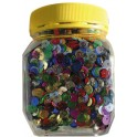 BOCAL 130GR SEQUINS RONDS PERFORES Diamètre 7MM