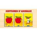 PUZZLE HISTOIRES d'ANIMAUX (8 histoires)