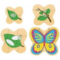 PUZZLE SEQUENTIEL MULTICOUCHE PAPILLON