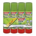 LOT 4 STICKS COLLE ECOLOGO 20GR TESA