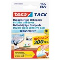 PASTILLES ADHESIVES TESA TACK DOUBLE FACE TRANSPARENT PAR 200 TESA